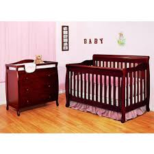 Cherry Baby Cribs by Afg Alice 4 In 1 Crib And Grace 3 Drawer Changer Cherry Sam U0027s Club
