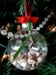 christmas seashell filled ornament christmas xmas holiday