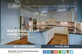Collins Design Build Launches New Home Builder Website - Home builder design