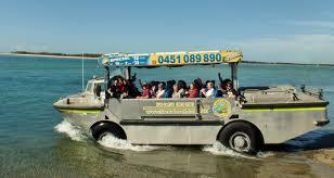 amphibious vehicle duck larc about home