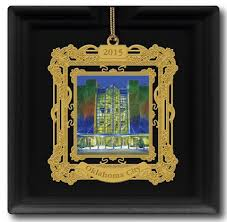 official oklahoma city ornament highlights kirkpatrick tower at