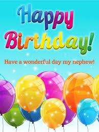birthday cards for nephew rainbow happy birthday card for nephew birthday greeting cards
