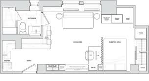 Micro Apartments Floor Plans by Hidden Trap Door Is Just One Of The Cool Space Saving Design