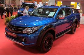 mitsubishi barbarian mitsubishi reveals new limited edition l200 barbarian svp auto