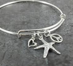 sterling bracelet charms images Adjustable sterling silver bangle charm bracelet expandable jpg