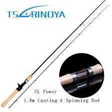 light action spinning rod trulinoya high carbon 1 8m ul baitcasting rod 1 8g lureweight