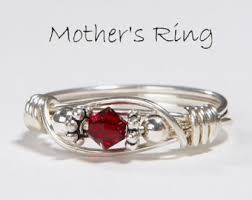 s ring 2 birthstones personalized sterling silver