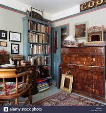Blue Bookcases Shelving Shelves Bookcases Furniture Stock Photos U0026 Shelving