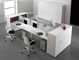 Modern Office Desk Accessories White Modern Office Desk Arrangement Greenville Home Trend