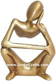 statue home decoration brass crafts india arts