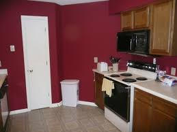 red kitchens painted kitchen cabinets with red walls kitchen
