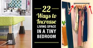 22 ways to boost and 22 ways to increase living space in a tiny bedroom