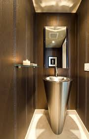 Contemporary Pedestals Plastic Pedestals And Stands Bathroom Modern With Striped Walls