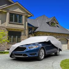 budge lite car cover basic vehicle protection semi custom fit
