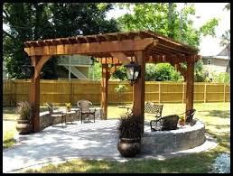 Garden Pergolas Ideas Small Garden Pergolas Attractive Small Backyard Pergola Ideas