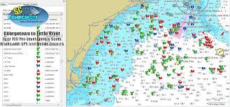 south carolina offshore fishing maps