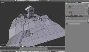 tutorial blender terrain creating a low polygon scene in blender