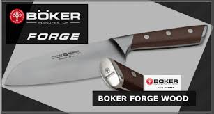 bloc de couteaux de cuisine professionnel couteaux de cuisine böker forge wood