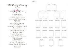 blank wedding program templates cool blank wedding program templates photos exle resume and