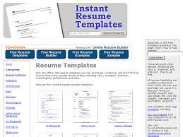 instant resume templates instant resume templates instant resume templates 18 791 1024