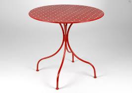 table jardin pliante pas cher table de jardin ronde en fer jsscene des idées