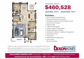 Dixon Homes Floor Plans by House U0026 Land Packages Nev Kane Real Estate