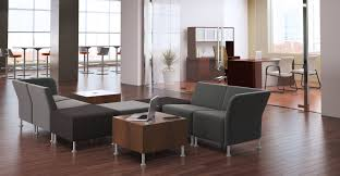 furniture modern reception chairs for office orange anti