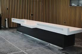 Granite Reception Desk Wembley Stadium Reception Desk Contemporary Hertfordshire By