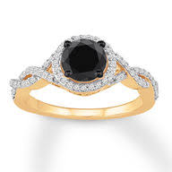 engagement rings with black diamonds jared engagement rings
