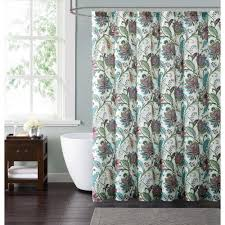 Brown And Teal Shower Curtain by Style 212 Kass Floral 72 In Multiple Shower Curtain Sc1795 6200