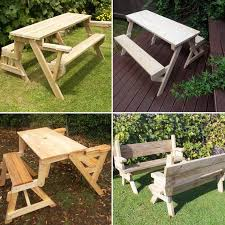 Foldable Picnic Table Plans by 14 Best Folding Picnic Tables Images On Pinterest Picnic Tables