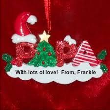Grandparent Ornaments Personalized Nana Personalized Family Christmas Ornament Christmas Ornament