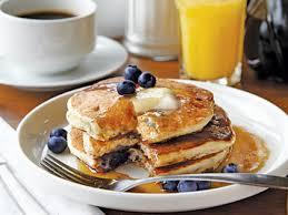 peach and blueberry pancakes recipe myrecipes