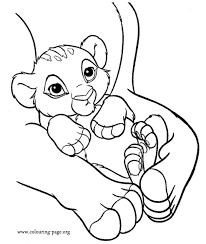lion king coloring pages baby simba dessincoloriage
