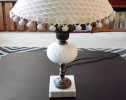 Shabby Chic Bedroom Lamps by Hobnail Brass Lamp Etsy