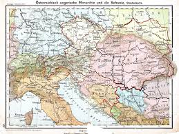 Map Of Austria And Italy by Big Blue 1840 1940 October 2012