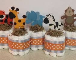 Diaper Cake Centerpieces by Best 20 Jungle Diaper Cakes Ideas On Pinterest Safari Theme