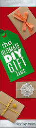 Homemade Christmas Gifts by The Ultimate Diy Christmas Gifts List Diy Joy