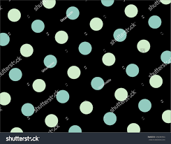 mint green polka dots wallpaper background stock vector 436686904