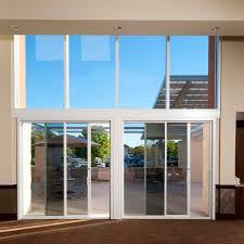 Exterior Pocket Sliding Glass Doors Commercial Sliding Door Systems Aluminum Exterior 990 Sliding