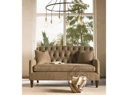 thomasville barcelona tufted back settee sofa darvin furniture