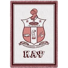 Phi Kappa Psi Flag Kappa Alpha Psi Greek Crest Afghan Greekgear Com