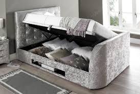 Kingsize Tv Bed Frame The Barnard King Size Tv Bed Tv Bed Store