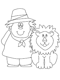 zookeeper people coloring pages u0026 coloring book