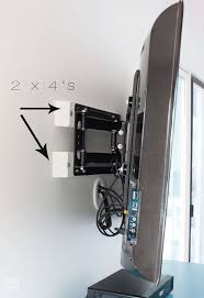 Hide Desk Cables Hiding Tv Wires Hiding An Hdmi Tv Wire Img0650 How To Hide Tv