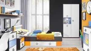 kinderzimmer grau wei colors kinderzimmer in uni wolfram grau weiß orange blau