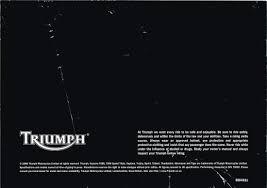 triumph dave u0027s bike brochures