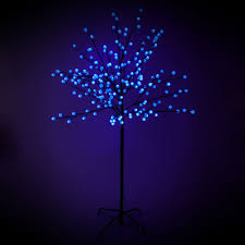 led trees 5ft light up outdoor berry tree decorations
