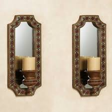 Rustic Candle Sconce Charming Mirror Candle Sconce 1 Mirror Candle Sconce Set Modern