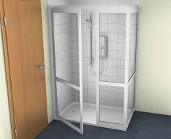 Disabled Half Height Shower Doors Contour Showers Uk Specialists In Disabled Showers Half